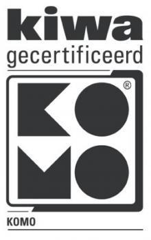 KOMO-keurmerk PE bolle bodem inspectieputten BRL 2017